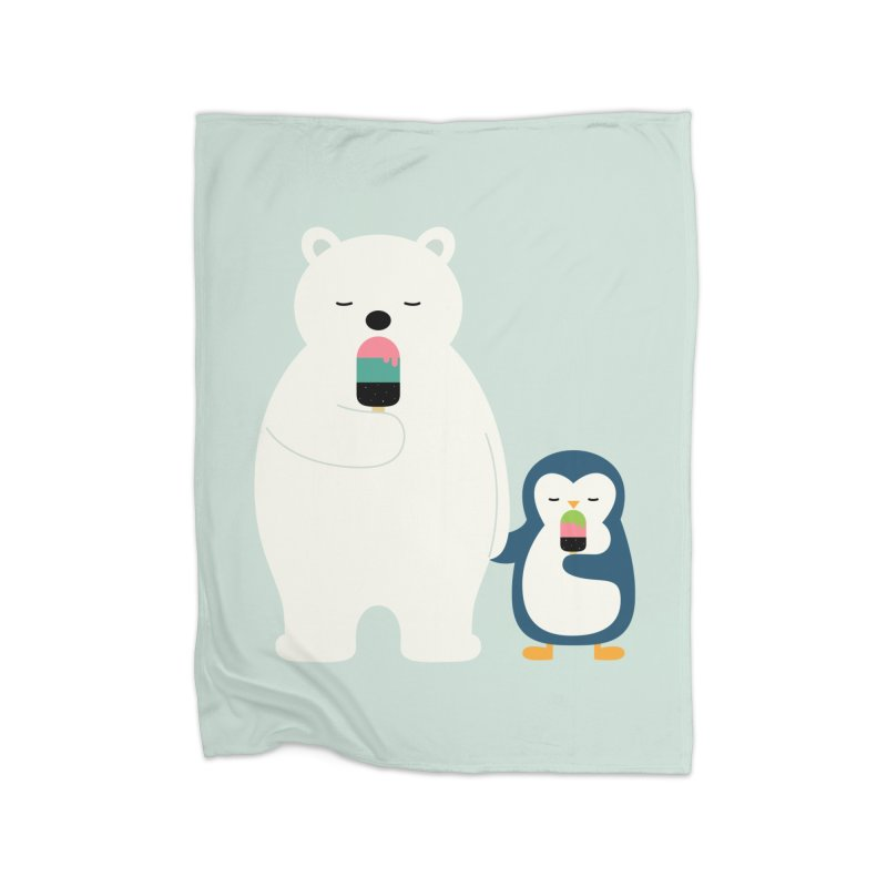 Stay Cool Home Blanket by andywestface's Artist Shop