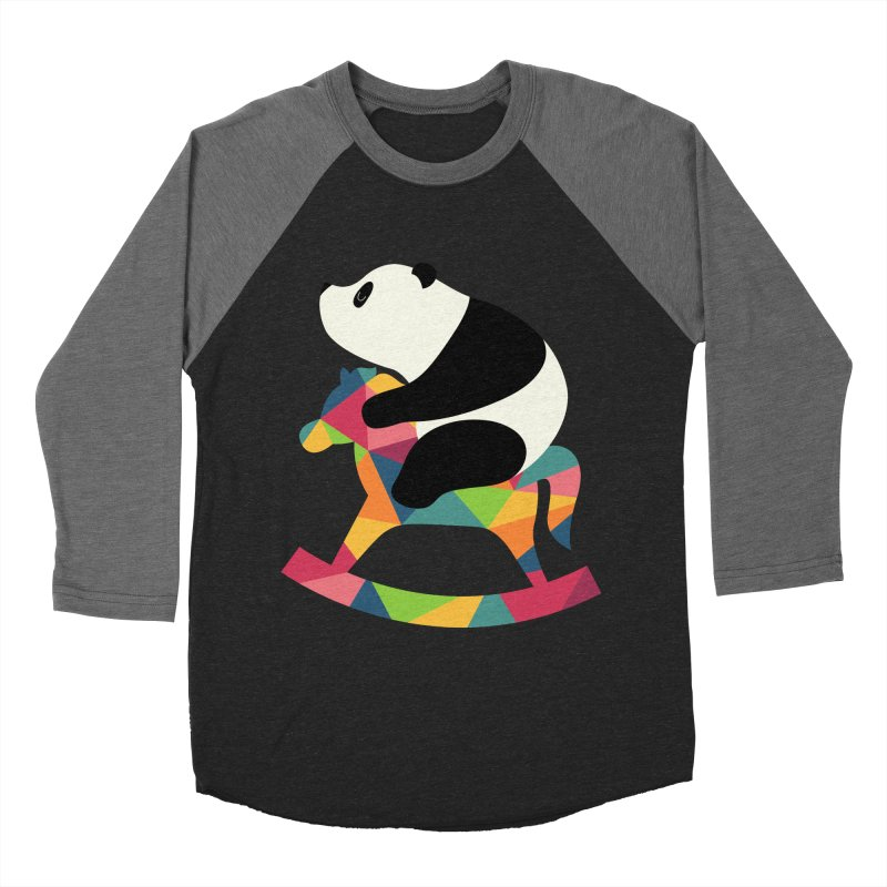 Rock On Women's Baseball Triblend T-Shirt by andywestface's Artist Shop