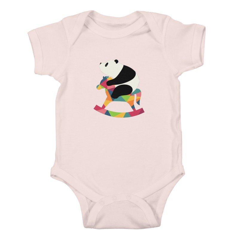 Rock On Kids Baby Bodysuit by andywestface's Artist Shop