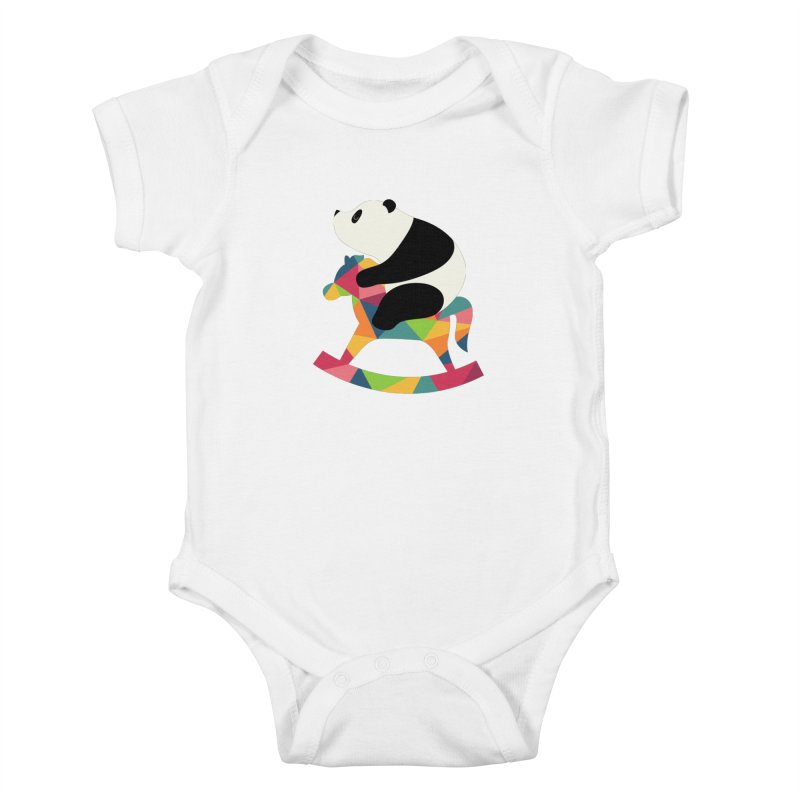 Rock On Kids Baby Bodysuit by andywestface's Artist Shop
