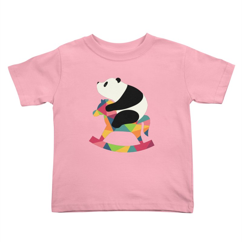 Rock On Kids Toddler T-Shirt by andywestface's Artist Shop