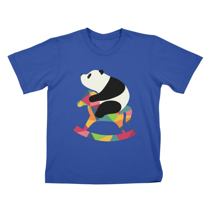 Rock On Kids T-Shirt by andywestface's Artist Shop