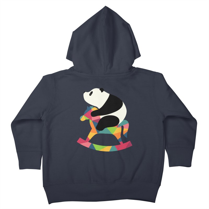 Rock On Kids Toddler Zip-Up Hoody by andywestface's Artist Shop