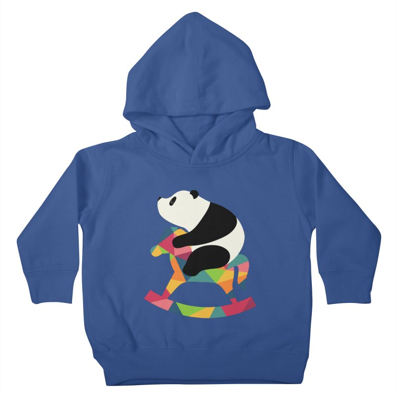 Rock On Kids Toddler Pullover Hoody by andywestface's Artist Shop