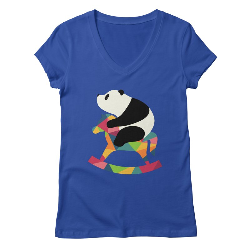 Rock On Women's V-Neck by andywestface's Artist Shop