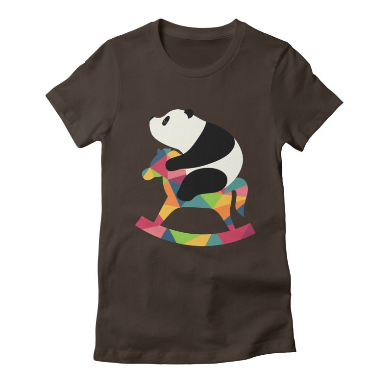 Rock On Women's Fitted T-Shirt by andywestface's Artist Shop