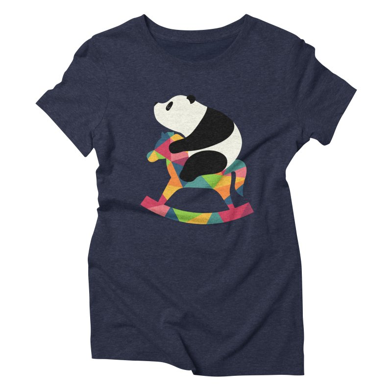 Rock On Women's Triblend T-Shirt by andywestface's Artist Shop