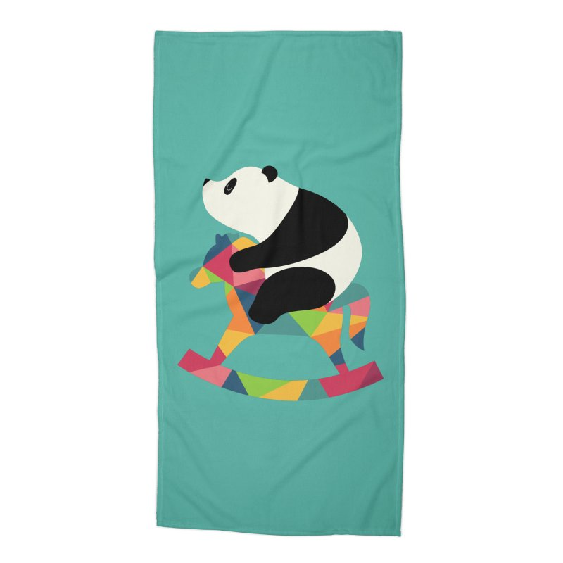 Rock On Accessories Beach Towel by andywestface's Artist Shop