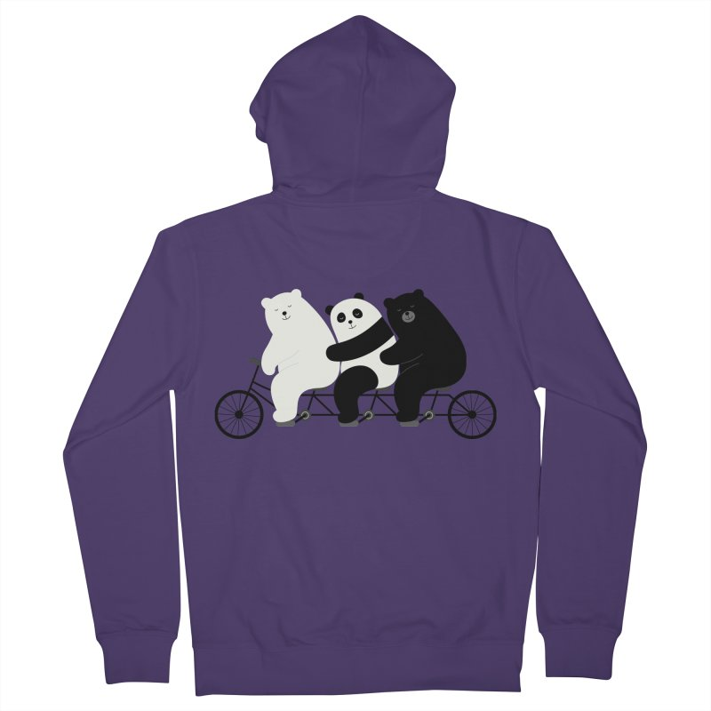 Family Time Women's Zip-Up Hoody by andywestface's Artist Shop