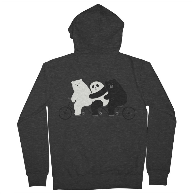 Family Time Men's Zip-Up Hoody by andywestface's Artist Shop