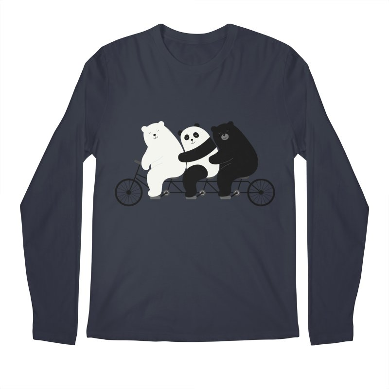 Family Time Men's Longsleeve T-Shirt by andywestface's Artist Shop