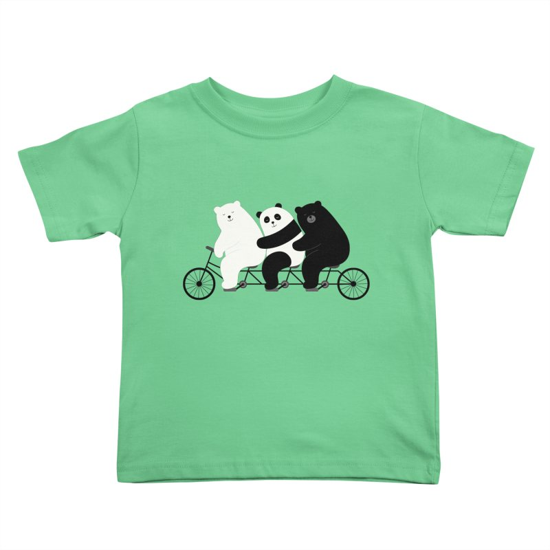Family Time Kids Toddler T-Shirt by andywestface's Artist Shop