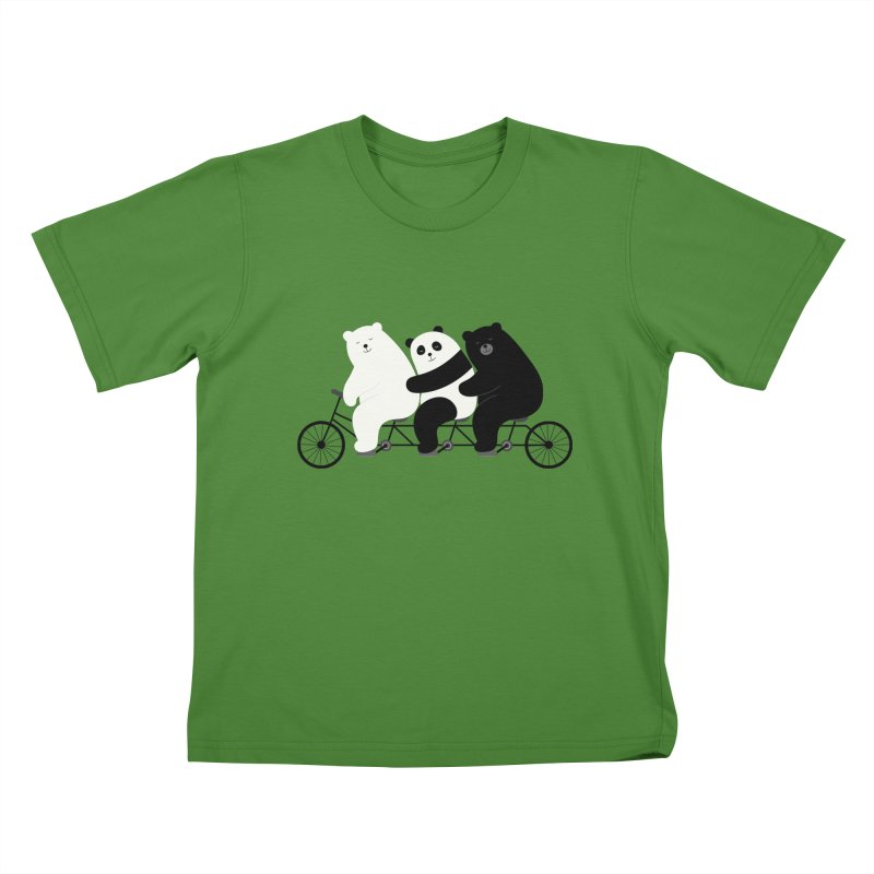 Family Time Kids T-shirt by andywestface's Artist Shop