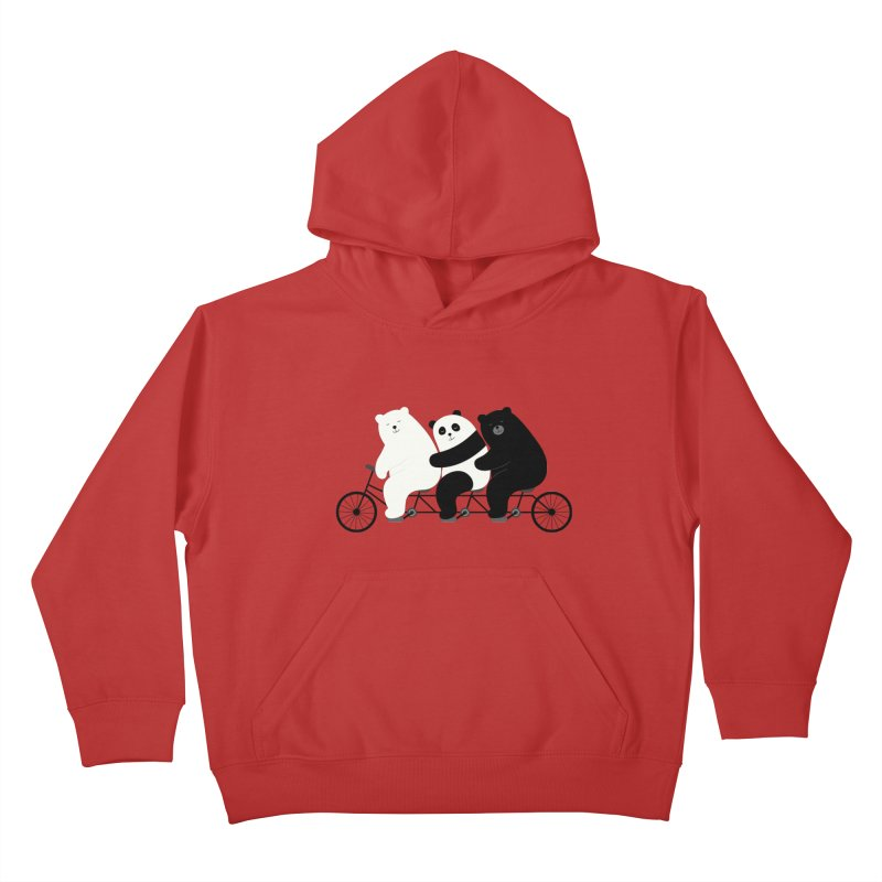 Family Time Kids Pullover Hoody by andywestface's Artist Shop