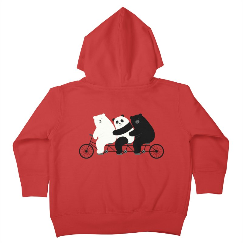 Family Time Kids Toddler Zip-Up Hoody by andywestface's Artist Shop