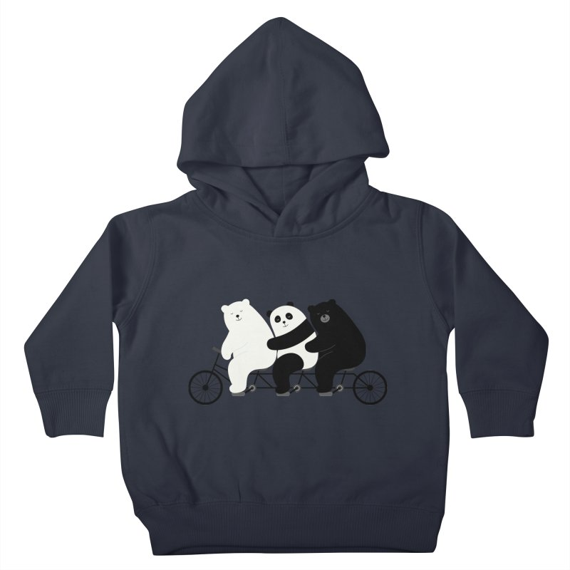 Family Time Kids Toddler Pullover Hoody by andywestface's Artist Shop