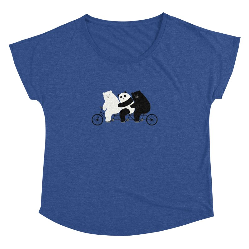 Family Time Women's Dolman by andywestface's Artist Shop