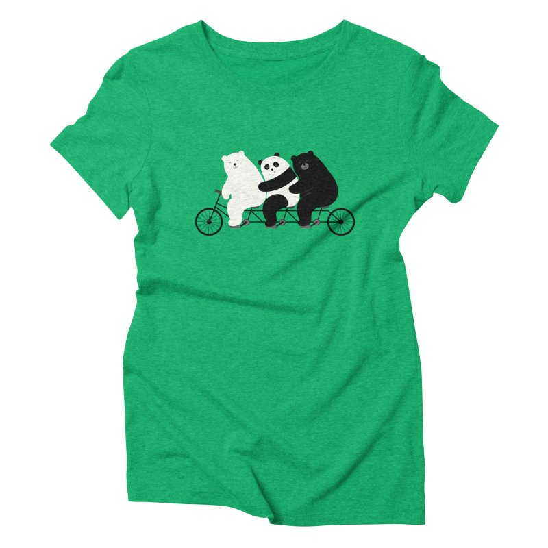 Family Time Women's Triblend T-Shirt by andywestface's Artist Shop