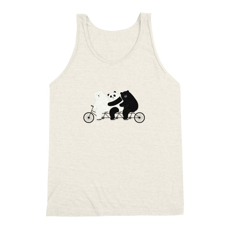 Family Time Men's Triblend Tank by andywestface's Artist Shop