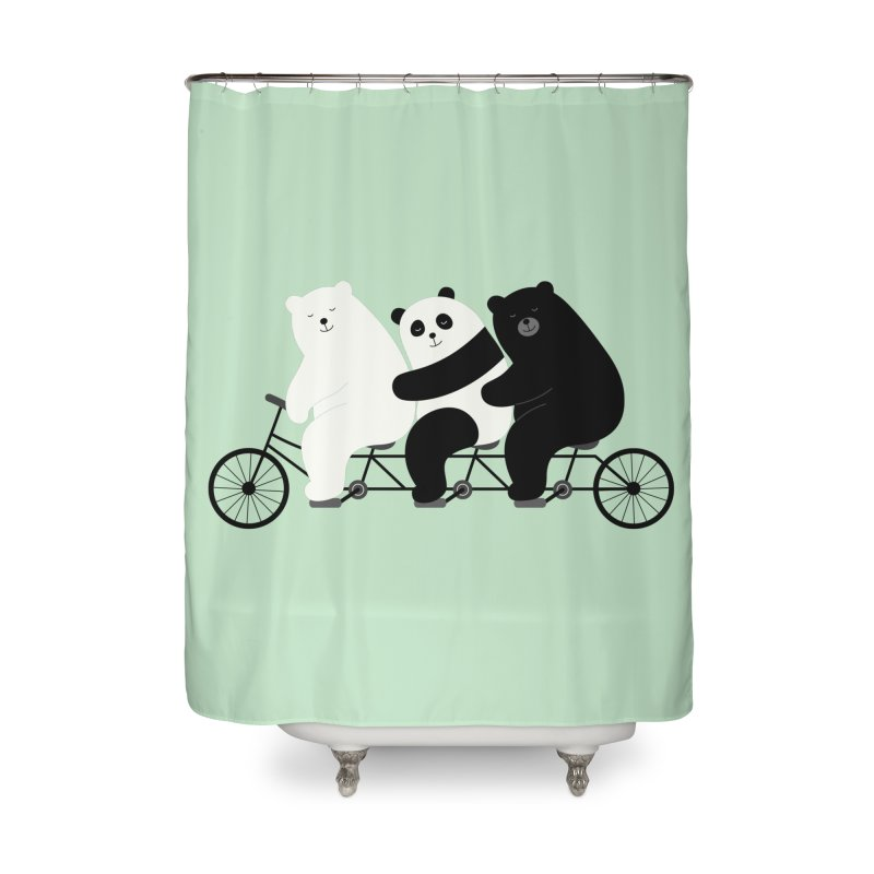 Family Time Home Shower Curtain by andywestface's Artist Shop