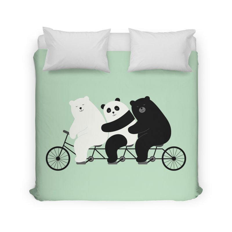 Family Time Home Duvet by andywestface's Artist Shop