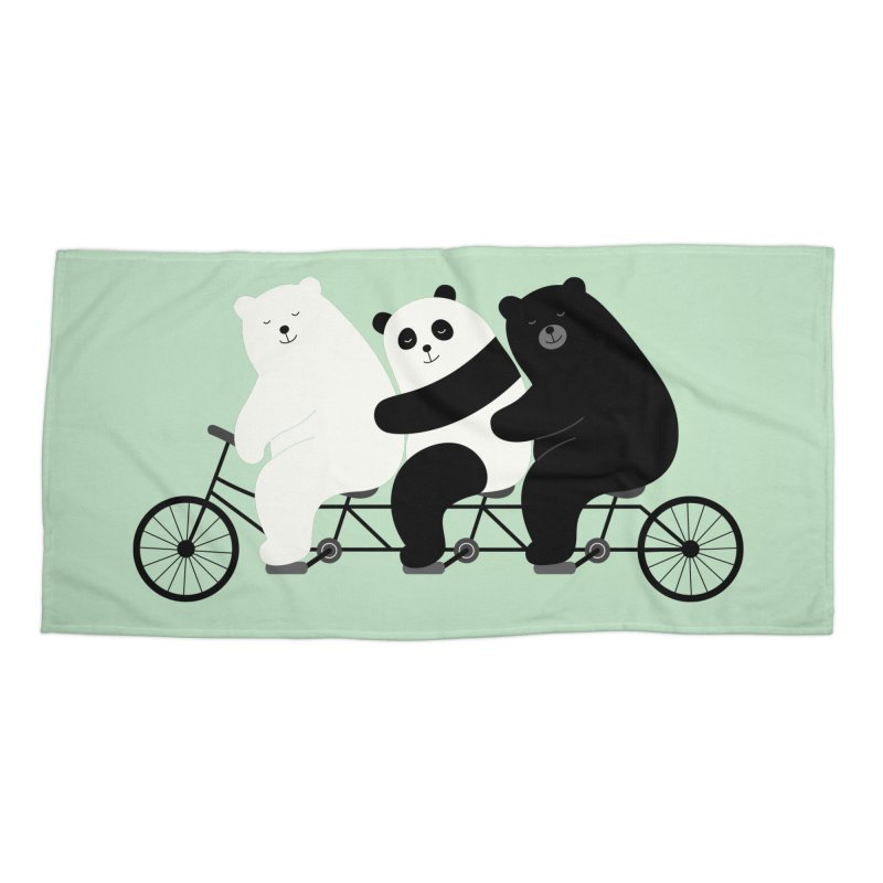 Family Time Accessories Beach Towel by andywestface's Artist Shop