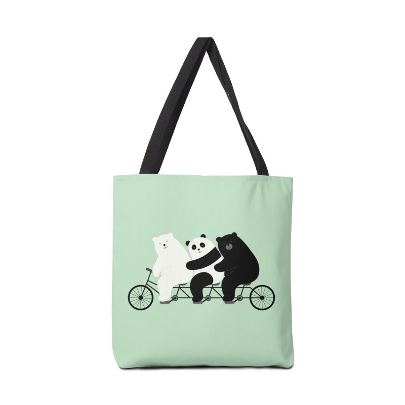 Family Time Accessories Bag by andywestface's Artist Shop