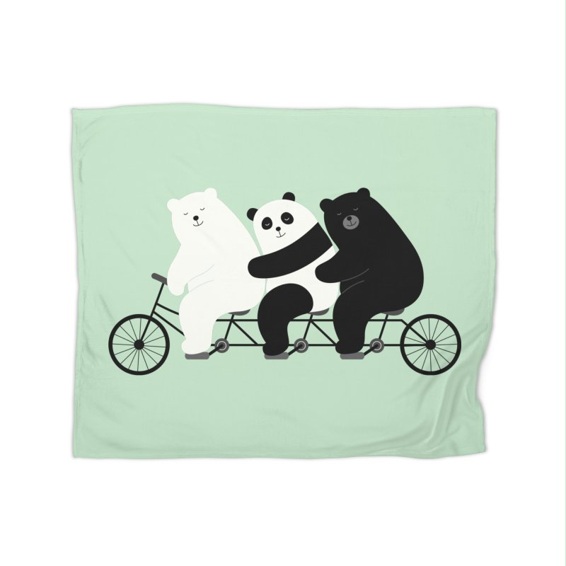 Family Time Home Blanket by andywestface's Artist Shop