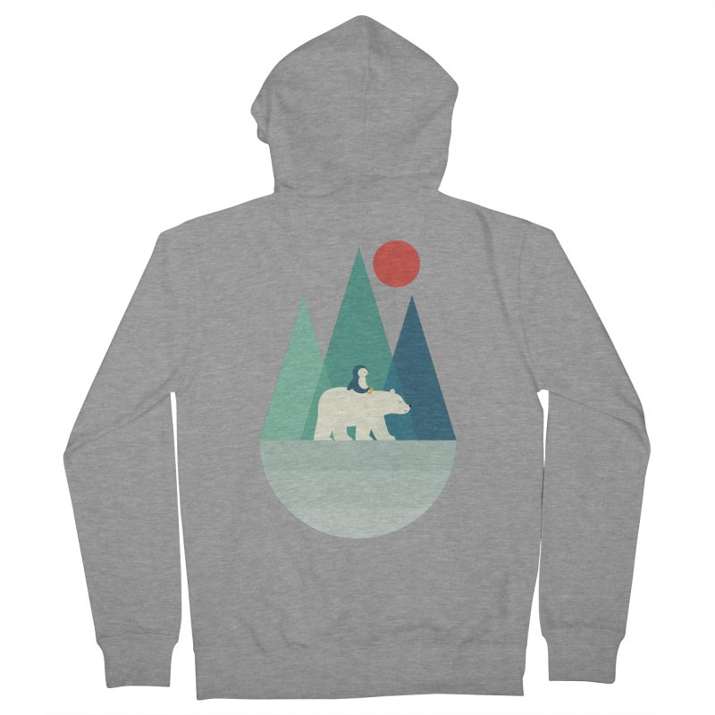 Bear You Women's Zip-Up Hoody by andywestface's Artist Shop