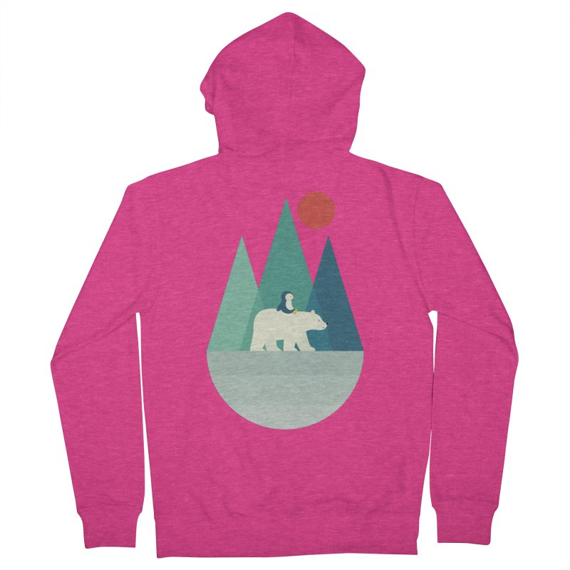 Bear You Women's Zip-Up Hoody by andywestface's Artist Shop