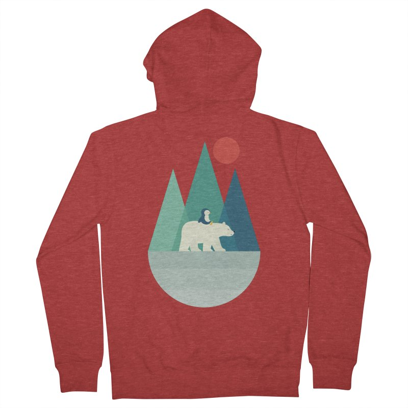 Bear You Men's Zip-Up Hoody by andywestface's Artist Shop