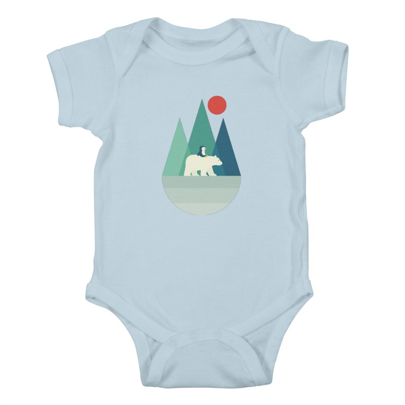 Bear You Kids Baby Bodysuit by andywestface's Artist Shop