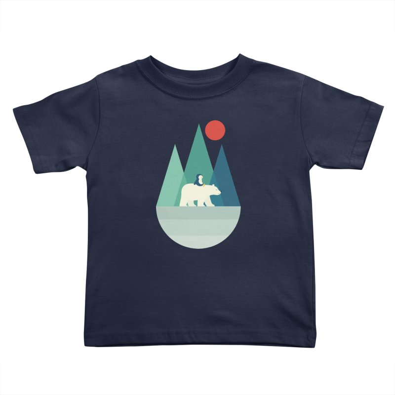 Bear You Kids Toddler T-Shirt by andywestface's Artist Shop