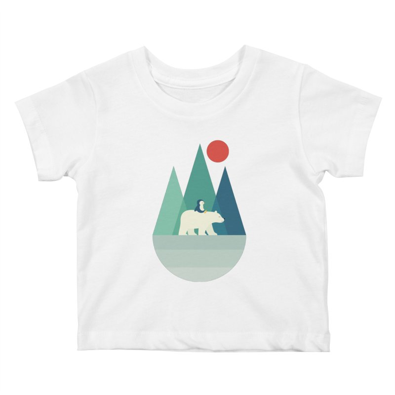 Bear You Kids Baby T-Shirt by andywestface's Artist Shop