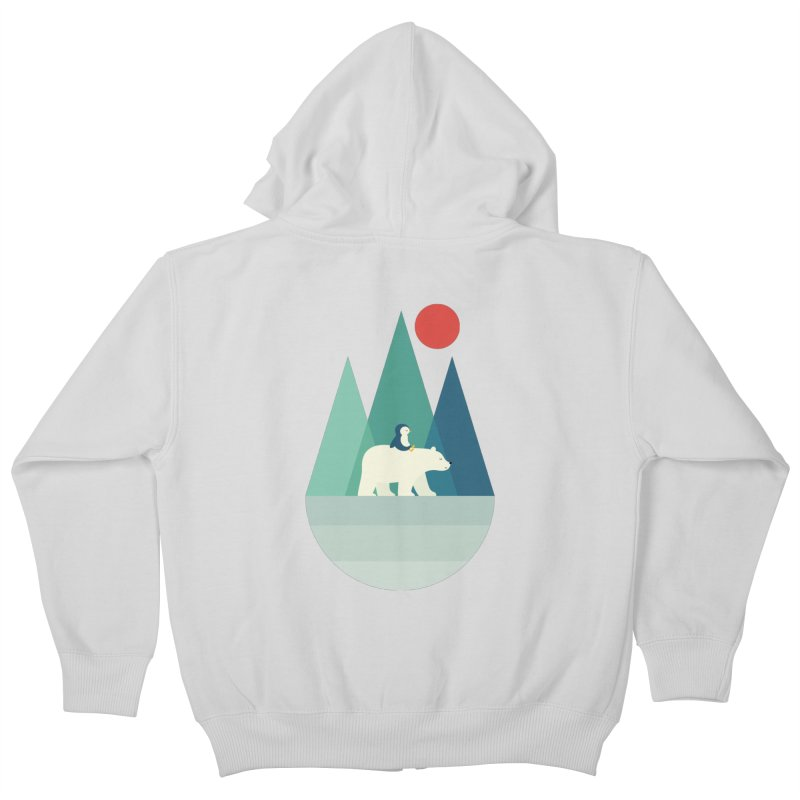 Bear You Kids Zip-Up Hoody by andywestface's Artist Shop