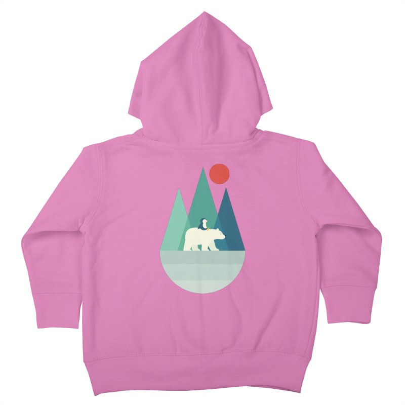 Bear You Kids Toddler Zip-Up Hoody by andywestface's Artist Shop