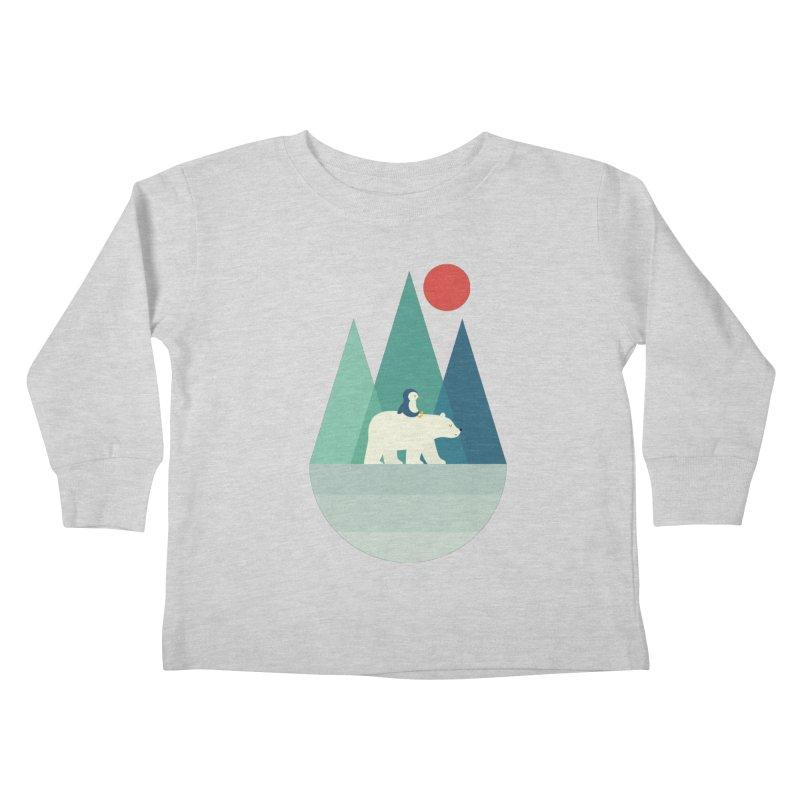 Bear You Kids Toddler Longsleeve T-Shirt by andywestface's Artist Shop