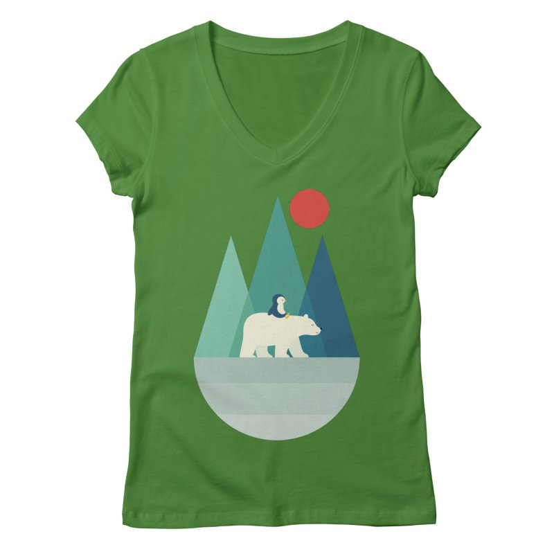 Bear You Women's V-Neck by andywestface's Artist Shop