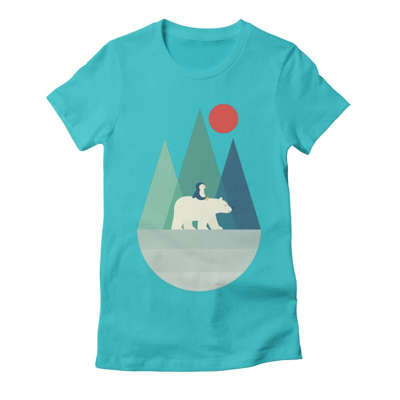 Bear You Women's Fitted T-Shirt by andywestface's Artist Shop