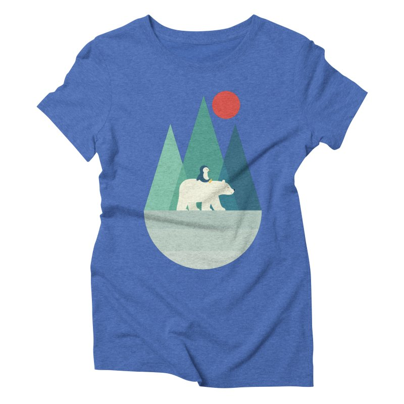 Bear You Women's Triblend T-Shirt by andywestface's Artist Shop