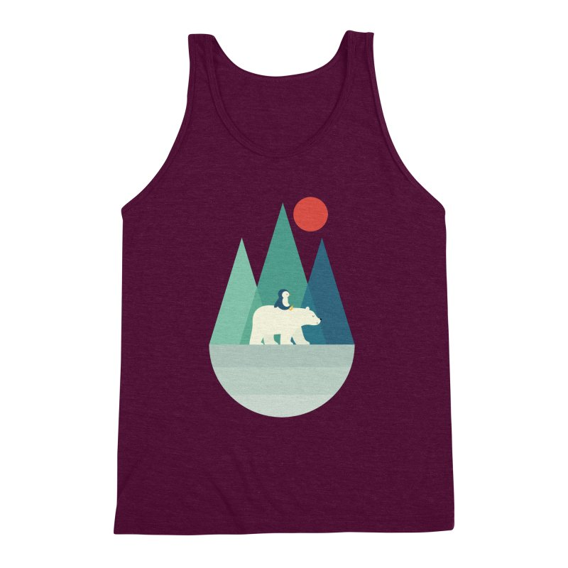Bear You Men's Triblend Tank by andywestface's Artist Shop