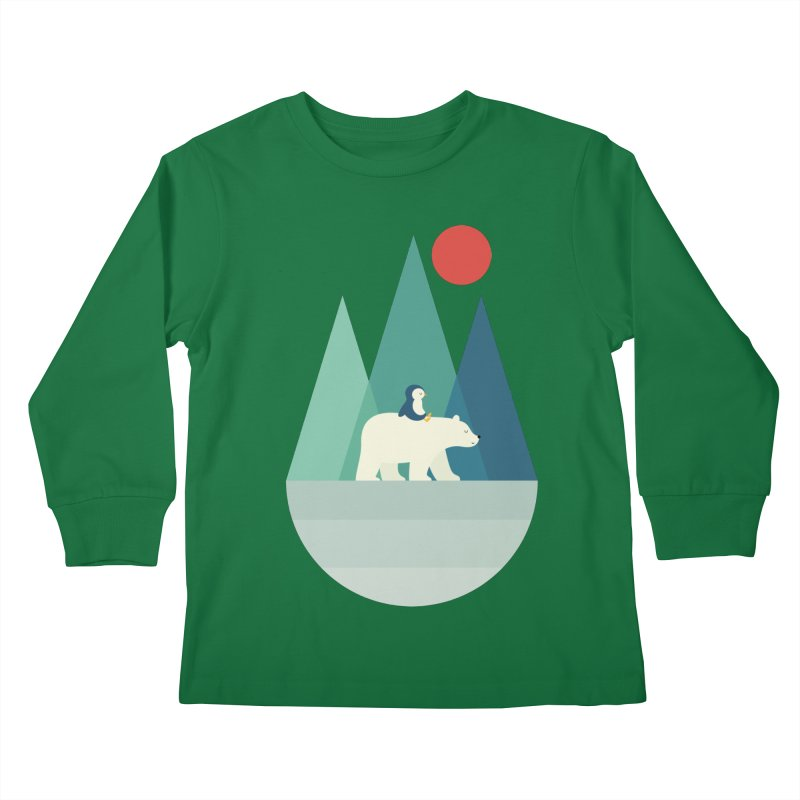 Bear You Kids Longsleeve T-Shirt by andywestface's Artist Shop