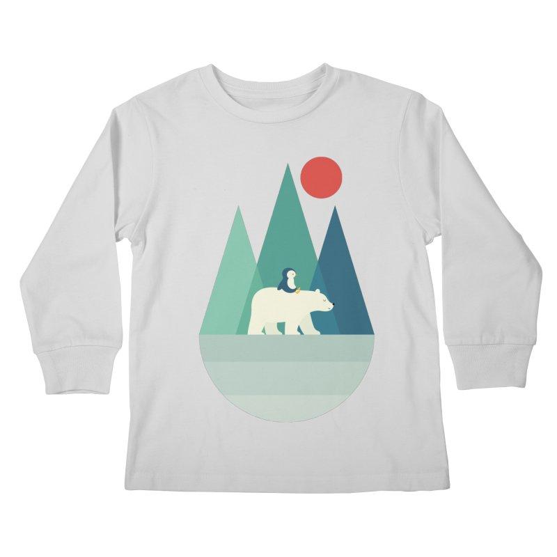 Bear You Kids Longsleeve T-Shirt by andywestface's Artist Shop