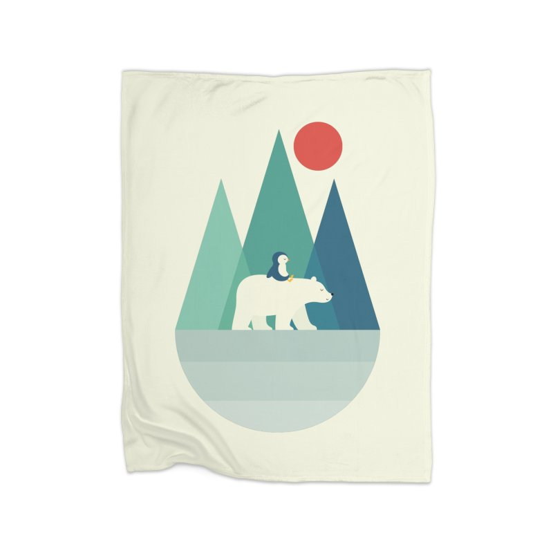 Bear You Home Blanket by andywestface's Artist Shop