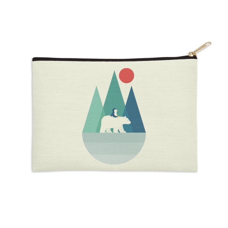 Bear You Accessories Zip Pouch by andywestface's Artist Shop