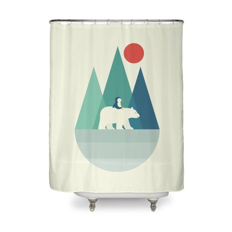 Bear You Home Shower Curtain by andywestface's Artist Shop