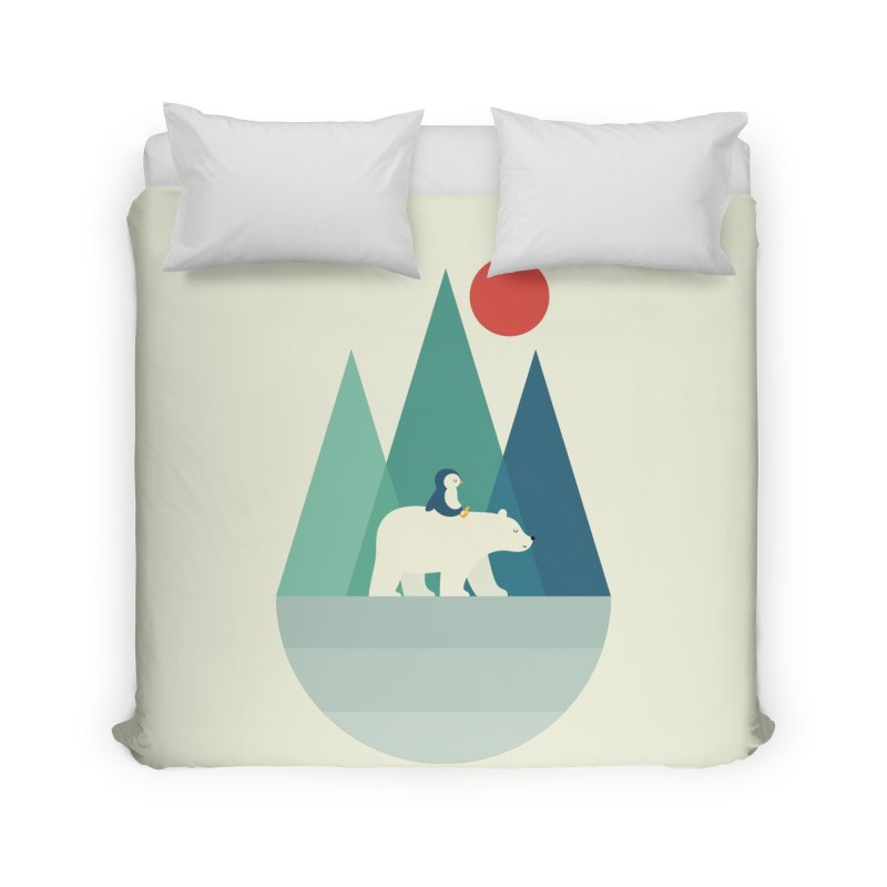 Bear You Home Duvet by andywestface's Artist Shop