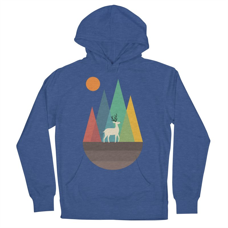 Step Of Autumn Women's Pullover Hoody by andywestface's Artist Shop