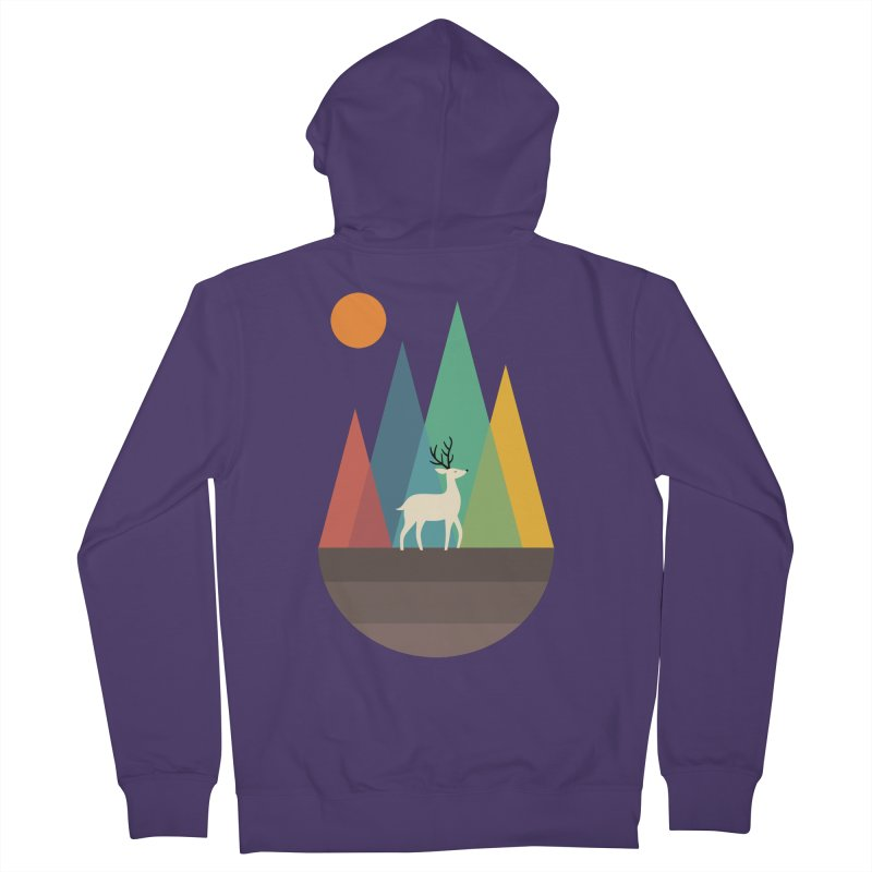 Step Of Autumn Women's Zip-Up Hoody by andywestface's Artist Shop