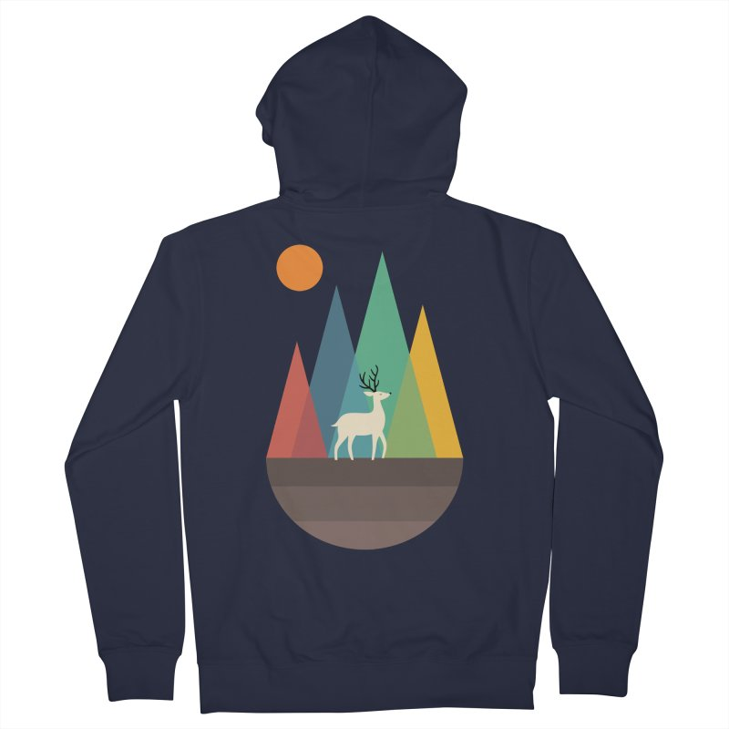 Step Of Autumn Men's Zip-Up Hoody by andywestface's Artist Shop